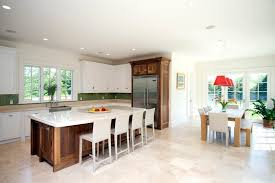 Polished Kitchen Floor Tiles - modern tuscan kitchen contemporary with kitchen counter marble