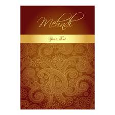 mehndi card mehndi henna invitation card zazzle