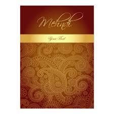 mehndi invitation cards mehndi henna invitation card zazzle