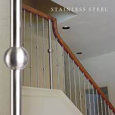Contemporary Stair Rails And Banisters Stainless Steel Stair Balusters House Of Forgings There U0027s No