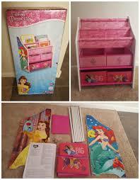 toy organizer delta children disney princess book and toy organizer review