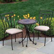 fabulous mosaic bistro patio set mosaic patio bistro set choosing