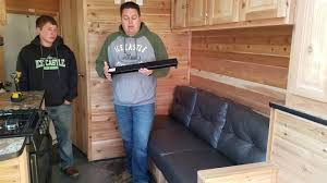 Jackknife Rv Sofa by Review And Install Jack Knife Sofa Support Youtube