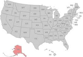 us state map with alaska stately knowledge facts about the united states