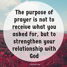 Prayer Meme - your daily inspirational meme the purpose of prayer socials