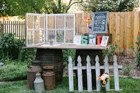 diy outdoor wedding decorations garden reception ideas amys office