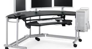 Gaming Computer Desk by Rock Solid Desk Chair Mat Under Desk Foot Rest Best Computer