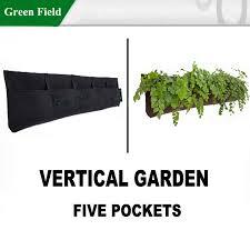 Urban Wall Garden - recycle felt vertical garden planter system wall garden planter