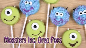 monsters inc oreo pops pretty little bakers youtube