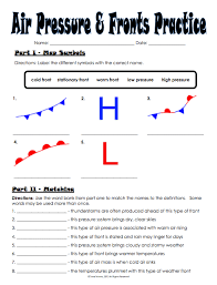 weather fronts worksheets free worksheets library download and