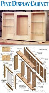 wall display cabinet plans furniture plans and projects http