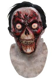 melted face zombie mask zombies pinterest zombie mask and