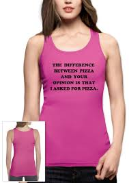 i asked for pizza women tank top pizza tumbler fashion dope swag
