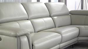embry 2 piece leather power reclining sectional video gallery