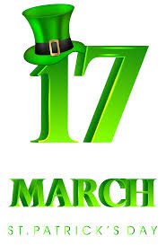 17 march st patricks day transparent png clip art image gallery
