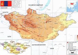 Mongolia Map Mongolia