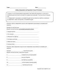 complex or simple sentence worksheet englishlinx com board