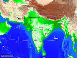 Karakoram Range Map South Asia Physical Map A Learning Family