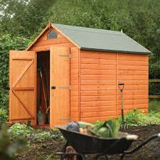 amazon com rowlinson a053 secure storage shed 8 u0027 by 6 u0027 garden