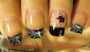top 18 spider web nail design you must take a look for this