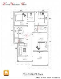 marvelous simple elevation house plan in below 2500 sq ft