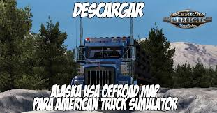 Alaska Usa Map by Mapa Alaska Usa Offroad Map Para American Truck Simulator