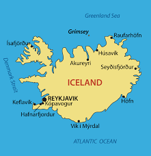 Iceland Map Location Iceland Map With Cities Blank Outline Map Of Iceland
