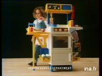 cuisine berchet berchet jouet chariot elements de cuisine publicité ina fr