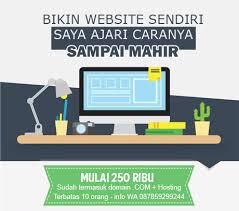 step by step membuat website sendiri gratis belajar cara membuat website sendiri jasa seo website