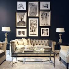 Gray And Gold Living Room by Best 25 Chesterfield Living Room Ideas On Pinterest