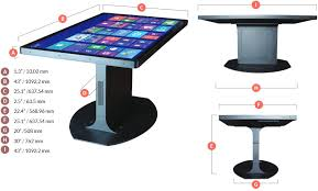 Touch Screen Coffee Table by 46 Inch Touchscreen Coffee Table Runs Android