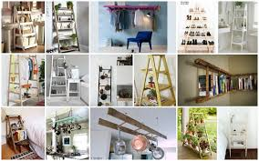 the decorative genius of repurposing places in the home ways to repurose an old ladder you should not miss
