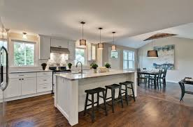 walnut wood espresso prestige door kitchen center island ideas