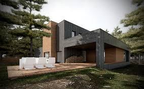 le si e dom w lesie pl pracownia projektowa pl architecture studio