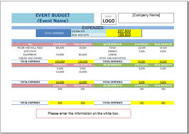Event Budget Template Excel Free Event Budget Template For Excel 2007 2016