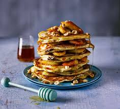 cuisine pancake chocolate filled pancakes with caramelised banana recipe