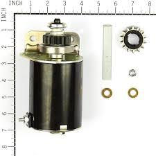 amazon com briggs u0026 stratton 5406k starter motor single cylinder