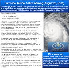 Weather Map New Orleans by Hurricane Katrina The Dire Nws Warning That Saved Lives U2014 Iweathernet