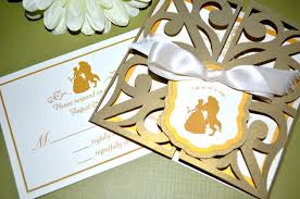 and the beast wedding invitations tale wedding invitations and the beast gate fold