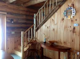 Interior Of Log Homes by Log Home Interior Stairs Kyprisnews