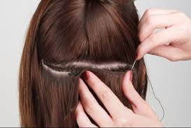 sew in hair extension treatment