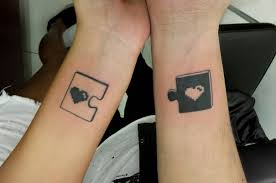 20 matching couple tattoos for lovers that will grow old together