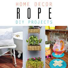 diy crafts home decor home decor rope diy projects the cottage market