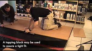 Cork Laminate Flooring Problems Hdf Click Cork Flooring Youtube