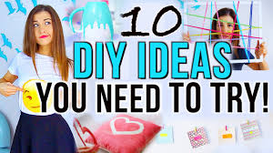 Cute Diy Home Decor Projects 10 Diy Project Ideas You Need To Try Could Use String On A Frame