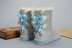 ugg sale uk bailey bow ugg bailey bow bling i do 1004140 leather womens white boots uk sale