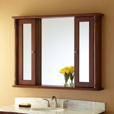 Bedroom Wall Vanity Small Rectangle Bedroom Wall Cabinet With Mirror In Bathroom Over