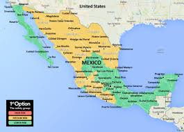 Chihuahua Mexico Map by 1stoptionsafety Mexico