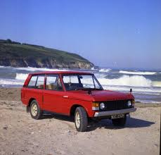 land rover 1970 range rover suv celebrates its 45th birthday today land rover