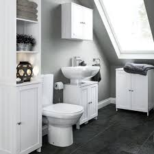 Freestanding Bathroom Furniture White Bathroom Furniture Cabinets Free Standing Furniture Diy At B Q